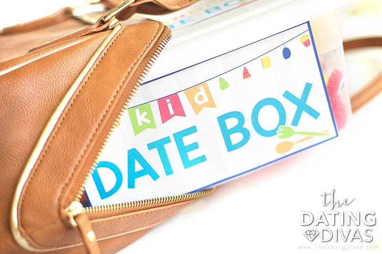 Take The Kid Date Box in your bag!