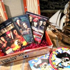 Argh! A Pirates of the Caribbean themed date night!