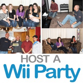 Host this fun Wii party group date night!