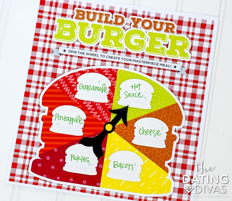 BBQ Date Night Printable Spinner