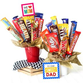 DIY Candy Bouquets for Gifts