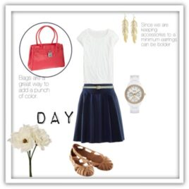 Date night dress up, how to turn your day outfit into a night outfit.
