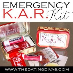 Emergency K.A.R. Kit, an intimacy idea