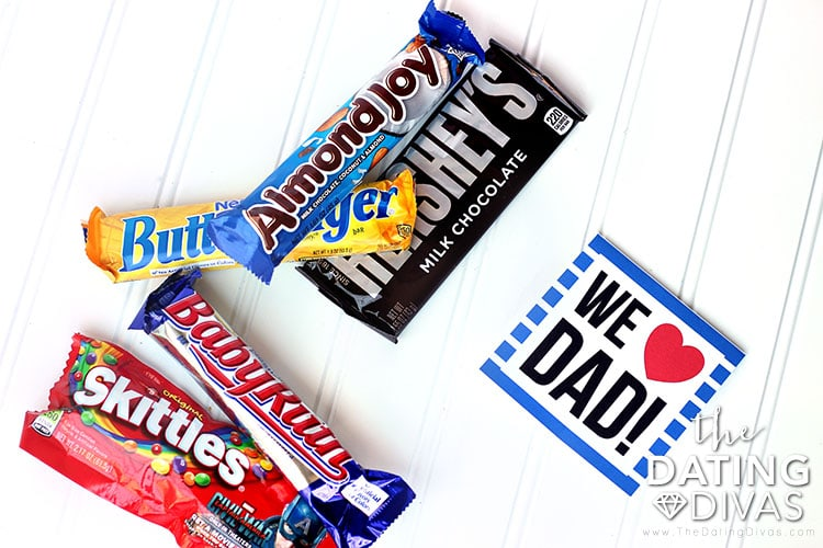 Father's Day Candy Bouquet Card