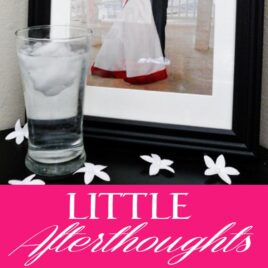 Little Afterthoughts that add romance to your intimacy.