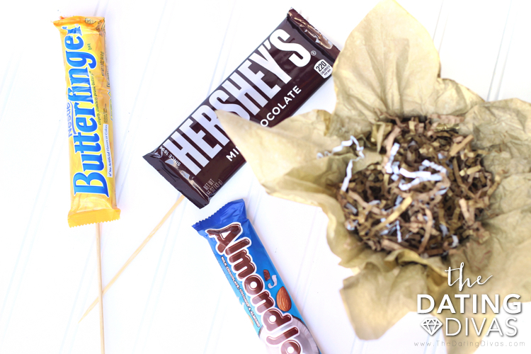 Make a Candy Bouquet
