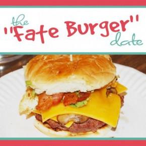 The Fate Burger group date idea.