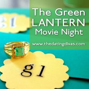The Green Lantern movie date idea.