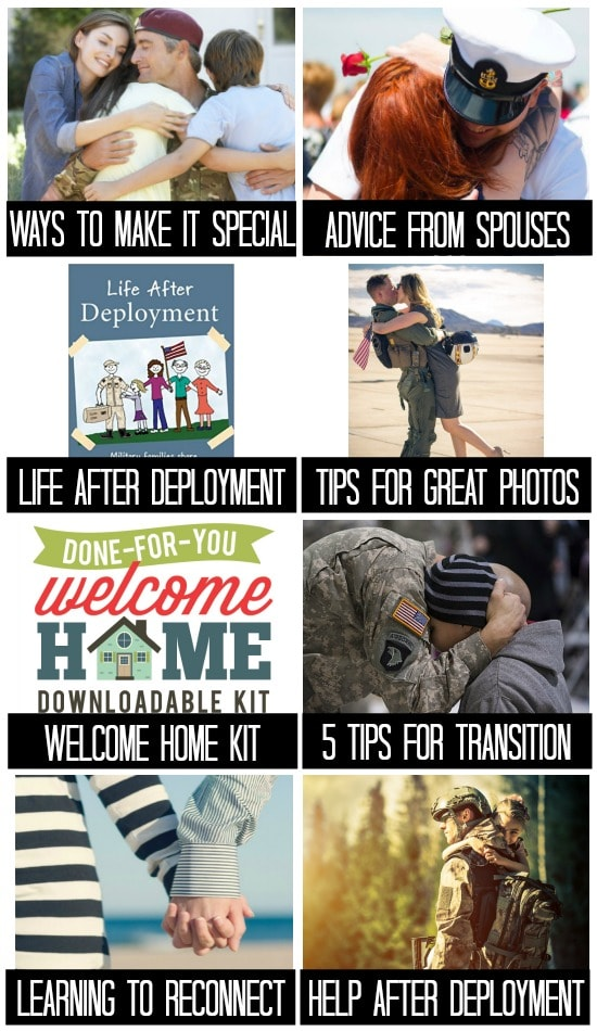 Advice for Military Homecoming