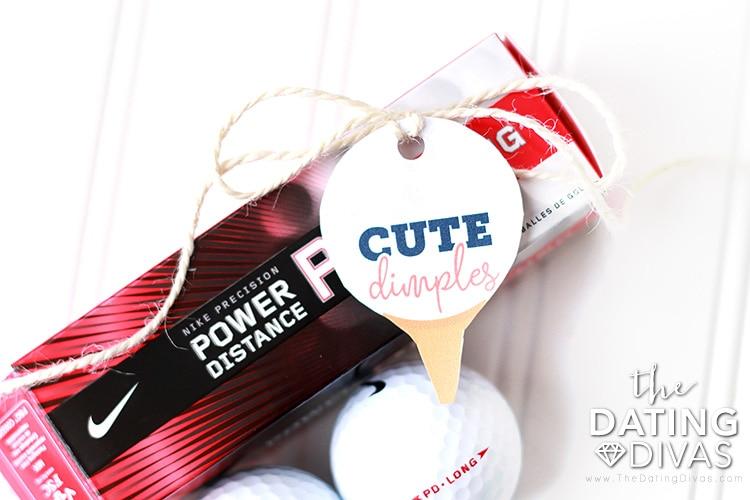 Golfing Date Gift Idea