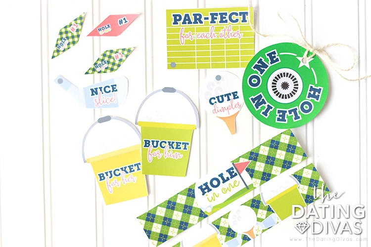 Golfing Date Printables