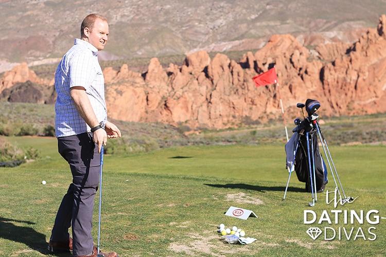 Breakfast and Golf Date Idea
