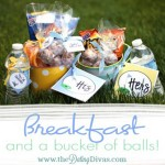 Breakfast & a Bucket of Balls