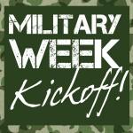 Military Week Kickoff!