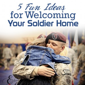 Military Week welcome home