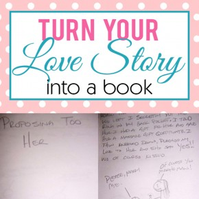 Turn your love story into a book!