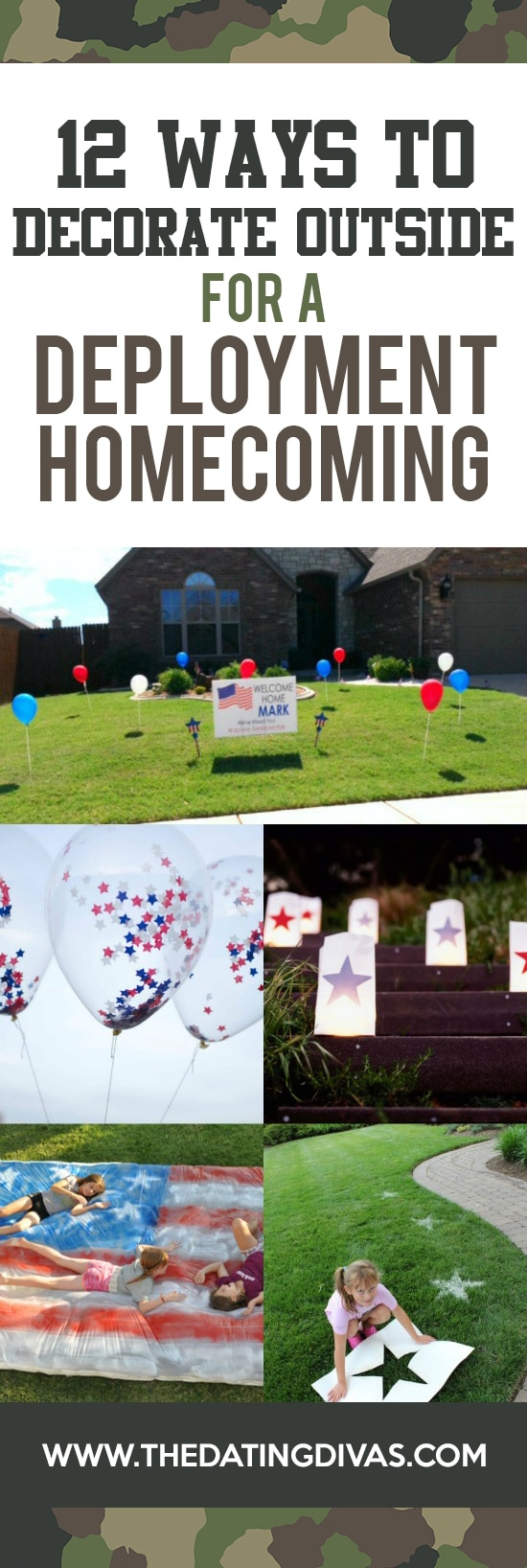 Decorate for Military Homecoming