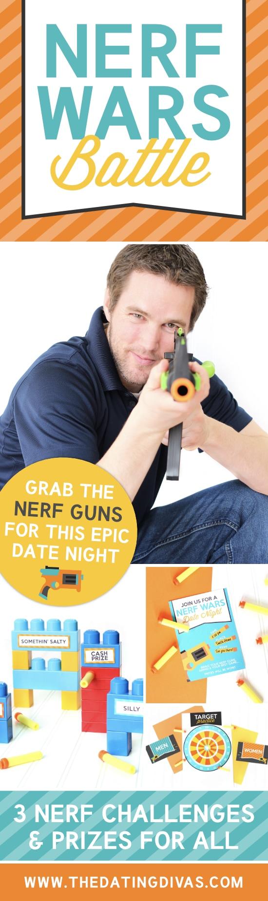 Nerf Wars Battle