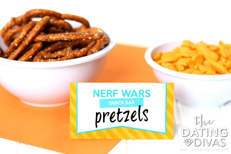 Nerf Wars Snack Bar