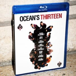 Ocean's Thirteen movie date night.