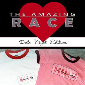The Amazing Race Valentine's Day edition group date.