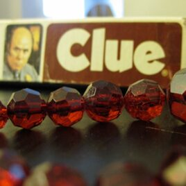 """The """"Clue"""" game group date."""