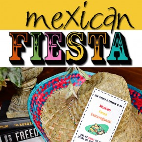 Mexican Fiesta! A group date night idea you're sure to love.