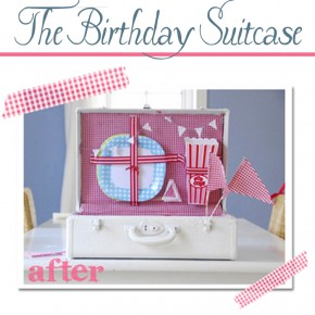 The birthday gift suitcase - a surprise for your spouse!