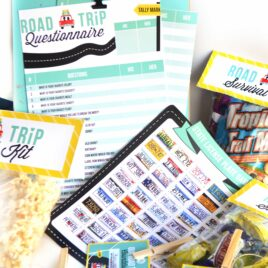 Prepare for your road trip with these fun supplies.