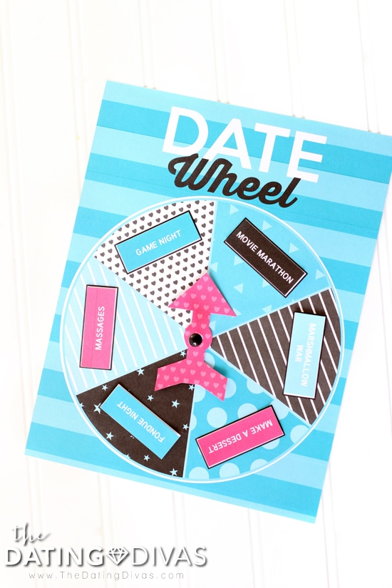 At Home Date Wheel