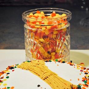 Fall Corn themed date night.