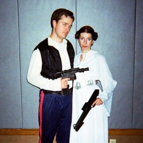 Couples Halloween costume contest winners!