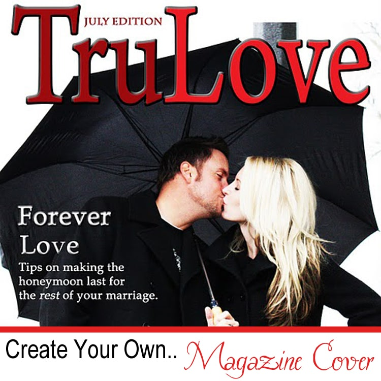 Create Your Own Magazine Cover - Cover Dudes