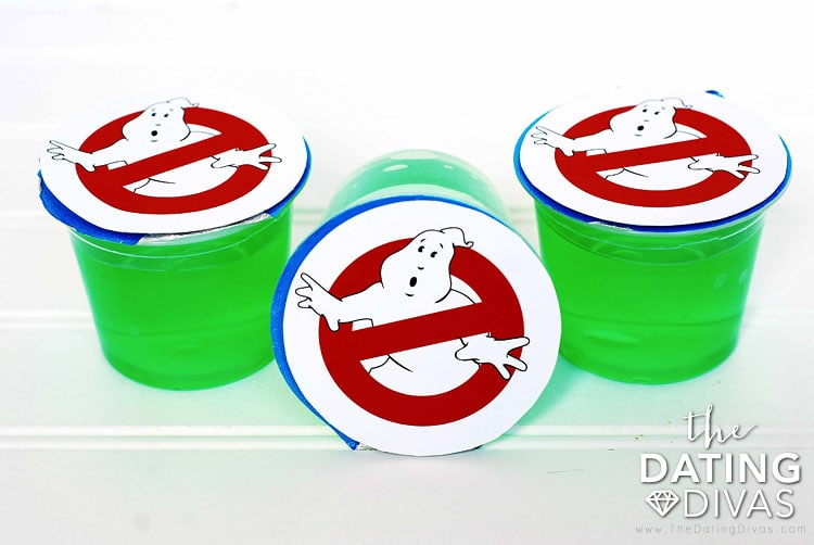 Ghostbusters Treat Toppers