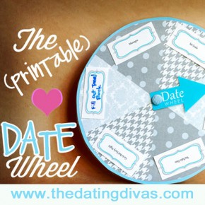The Date Wheel printable date night idea.