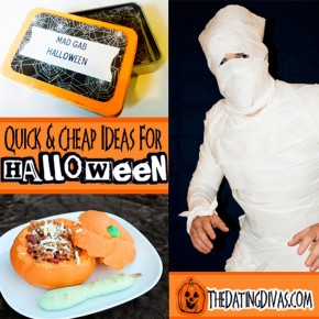 Trick or Treat Halloween Date Night for your Boo!