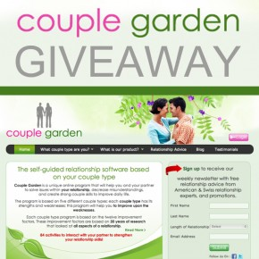 Couple Garden giveaway