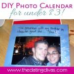 DIY Photo Calendar