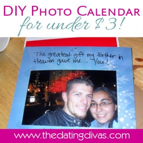 DIY photo calendar for your spouse!