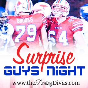 Football Treats and surprise guy night idea.