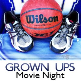 Grown Ups movie date night idea.