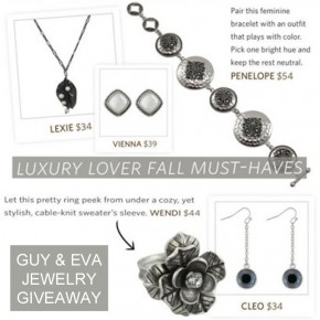 GUY and EVA jewelry giveaway