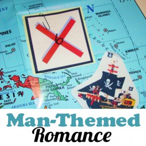 Man-themed-romance ideas.