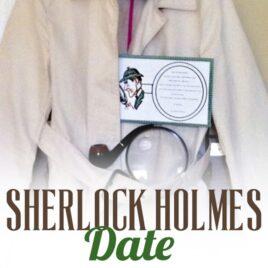 A Sherlock Holmes mystery date night.