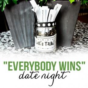 Your Choice, My Choice, everybody wins communication date night idea.