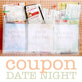 Coupon Date night, inexpensive ways to still date your spouse!