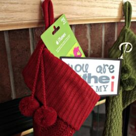 A last minute gift idea for a Christmas Stocking stuffer.