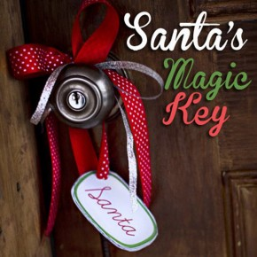 Santa's Magic Key plus a free printable!