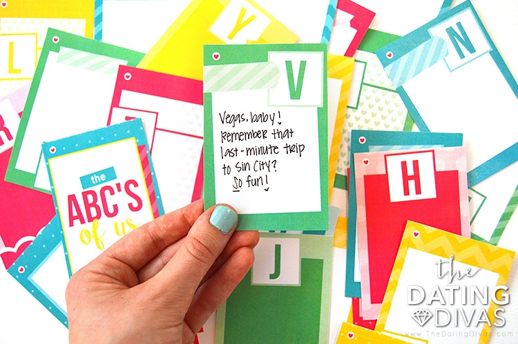 ABC's of Us Alphabet Gift