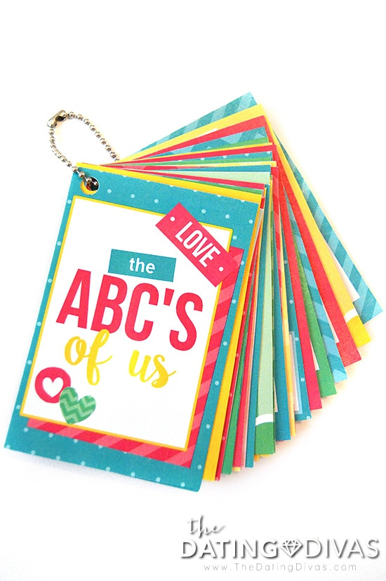 ABC's of Us Cards